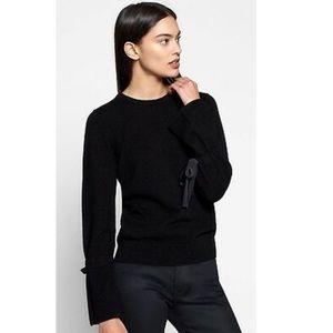NEW • Equipment • Nile Cashmere Sweater Black Lg